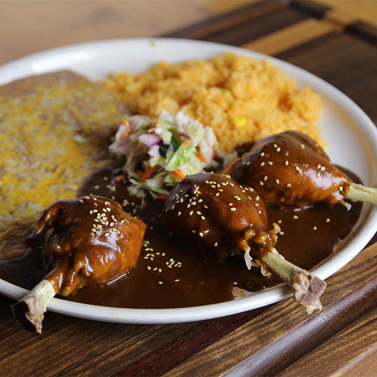 Chicken Legs en Mole